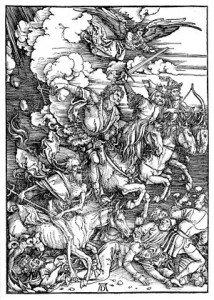 Cavaliers de l'Apocalypse dans CHEVAL 300px-Durer_Revelation_Four_Riders-214x300