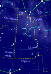 Constellation du Lézard dans LEZARD leza-210x300