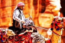 La bataille du Chameau dans CHAMEAU - DROMADAIRE bedouin