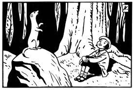 L' hermine animal totem dans HERMINE - VISON- BELETTE totem