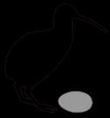 Symbolisme du Kiwi dans AUTRUCHE - EMEU symbole