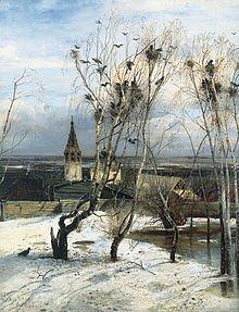 Le Grand Corbeau dans CORBEAU rooksbackofsavrasov