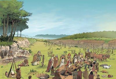 sangliers et peuple celte